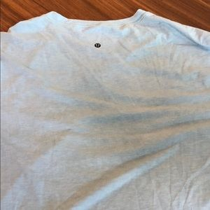 Lululemon V-Neck Light Blue